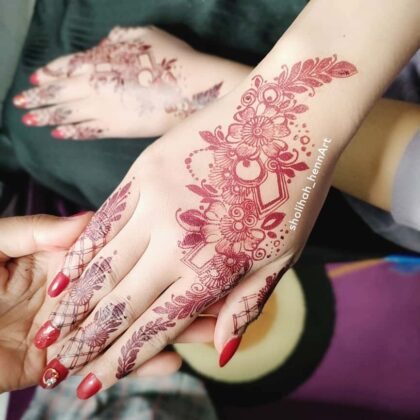 Portfolio Henna Artist Murtik Sholihah